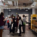 Kronos and Flex hosted students at the Flex Boston Innovation Center to promote manufacturing and technology. Photo credit:Kronos Incorporated.